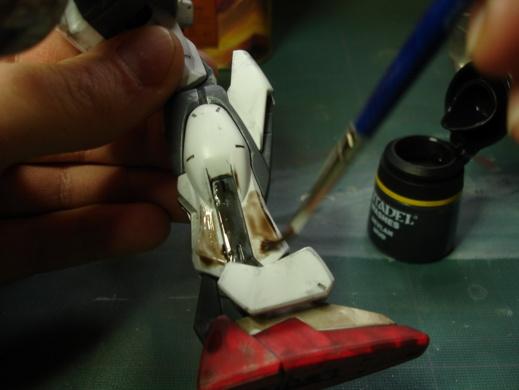 """Tutoriel """"No Paint"""" 3 - Quelques techniques de vieillissement et salissure"""