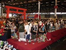 Le stand ANIGetter à la Japan Expo 2009