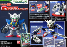 BB Senshi Gundam Exia, 600 JPY