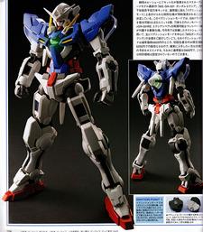 MG Gundam Exia, 1/100, 3800 JPY