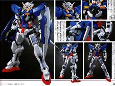 Gundam Exia 1/60, 4500 JPY