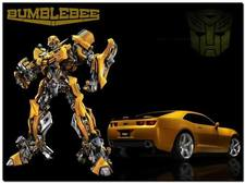 """Transformers the movie 2 : Bumblebee deluxe """"Human Alliance"""""""