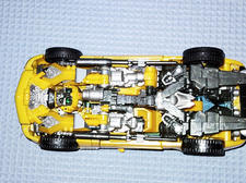 Vue du chassis.