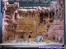 Un impressionnant diorama Star Wars