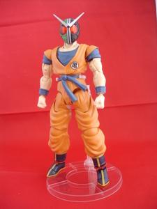 Le cross over de folie : Kamen Goku W !