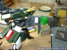 Cherudim Gundam Desert OP 1/100 - 1ère partie