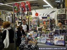 Le stand d'Otaku Webshop et ses kits alléchants