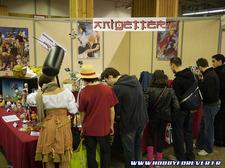 Un public varié et intéressé tant par le papercraft que par la maquette