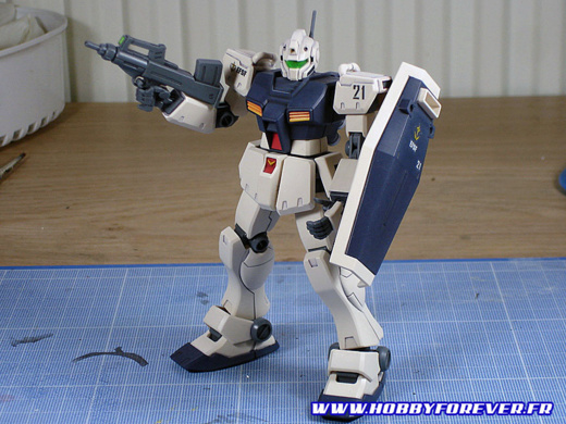 """Tutoriel """"No Paint"""" 4 - 2nd partie : Retouches de peinture et Gundam Markers"""