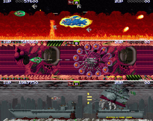 Darius II (arcade, 1989)