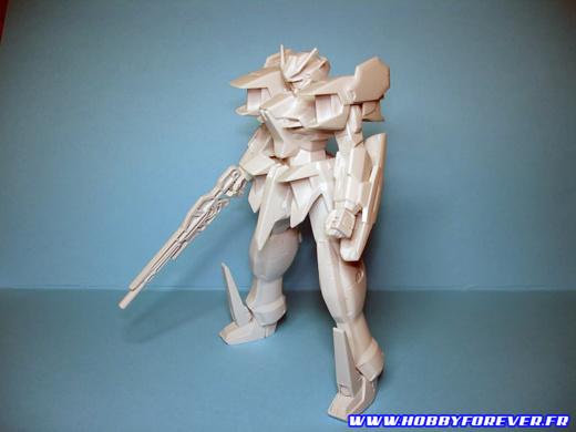 GN-XXX Gundam Rasiel 1/144 - 1ère partie