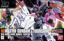 HGFC Master Gundam & Fuunsaiki