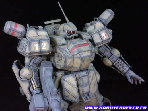 AS-5E3 LEYNOS [player type] - Assault Suit Leynos (Megadrive)