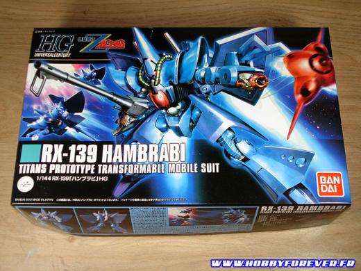 HGUC RX-139 Hambrabi - Out of Box