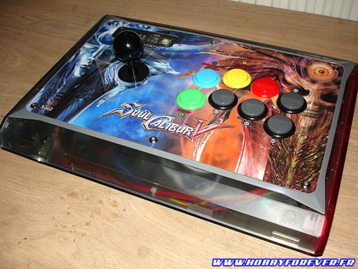 Dual Mod Madcatz Arcade Fightstick Te Xbox360 Avec Une Mc