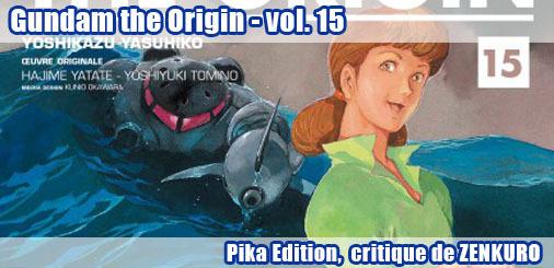 Gundam the Origin vol.15 - La critique