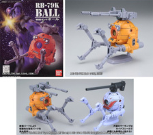 LM, MG et HGUC RB-79K Ball