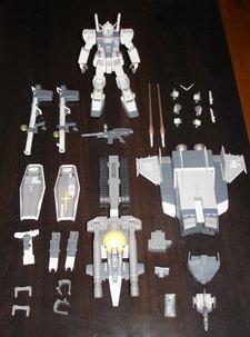 Le G3 Gundam et tous ses accessoires
