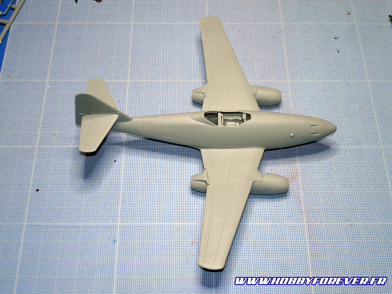 Le Me262 préassemblé