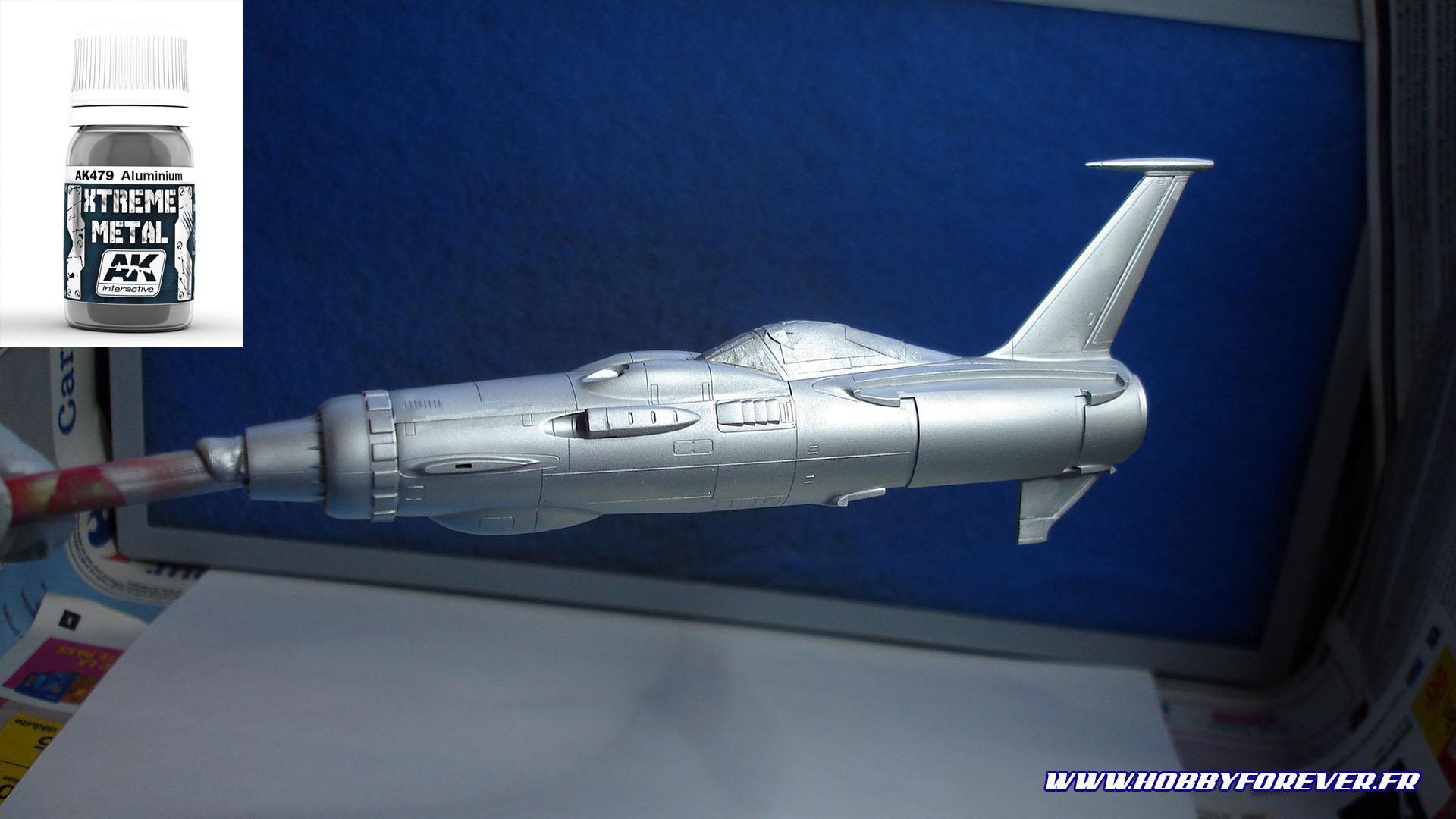 Couche d'aluminium AK Xtrem Metal