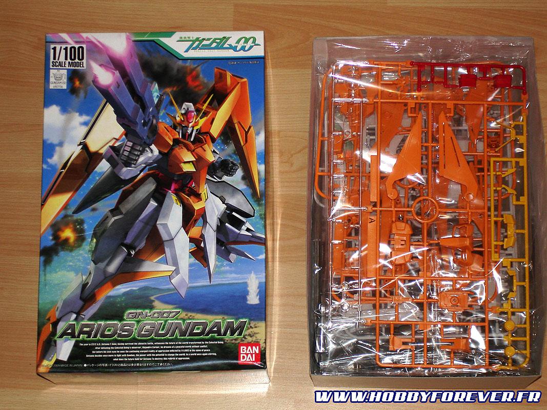 Ouvrons la boite du Arios Gundam 1/100