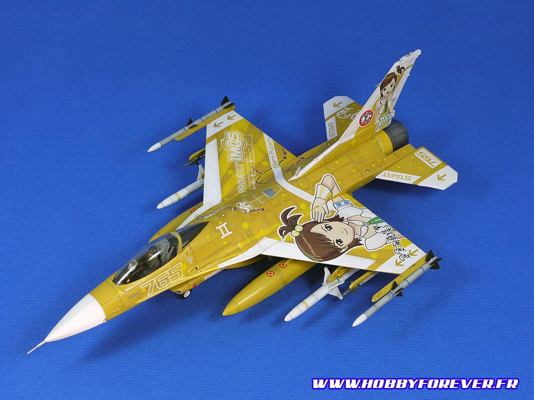 "F-16CJ Fighting Falcon ""Idol Master"" 1/72"