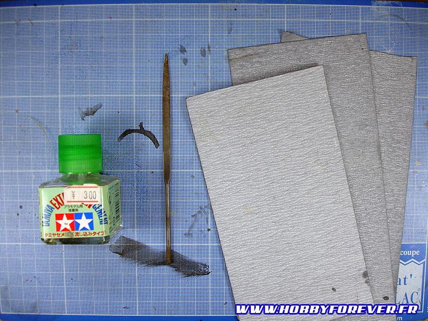 """Tutoriel """"No Paint"""" 4 - 1ère partie : Découpe et préparation des pièces"""