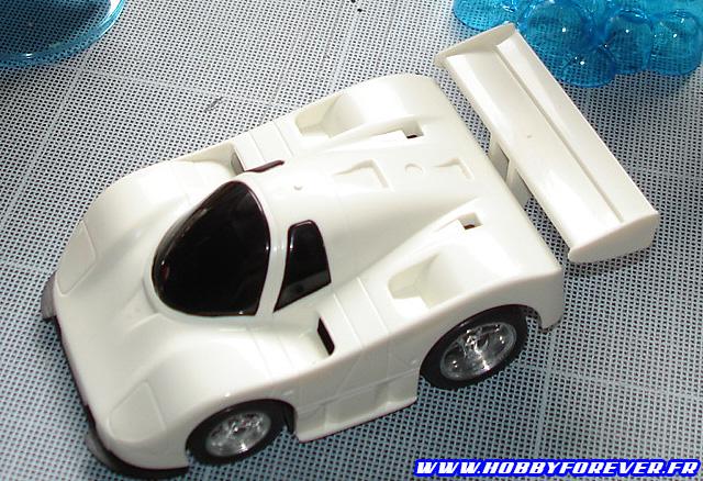 La Daytona Mazda 767B montée à blanc