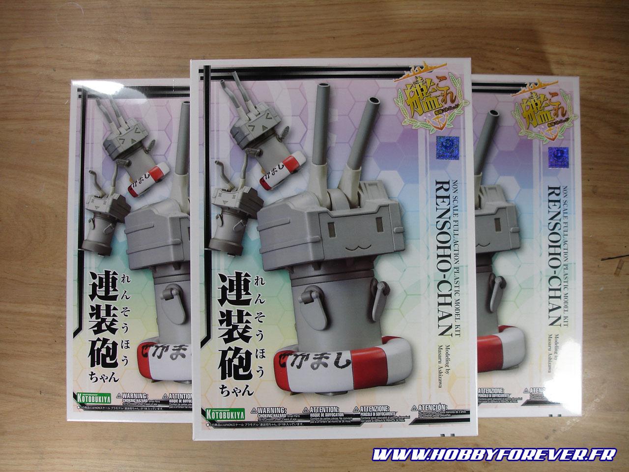 Boite du Rensouhou-chan, en triple exemplaire :p