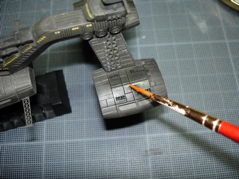 Appliquer du fixateur