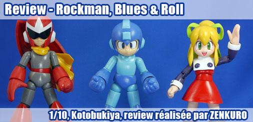 Review - Rockman, Blues & Roll 1/10, Kotobukiya