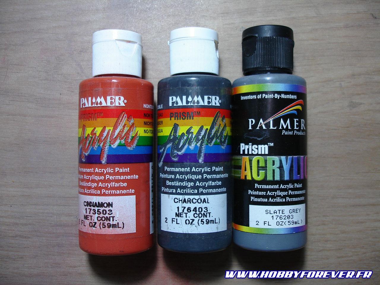 Les acryliques Prism, de Palmer