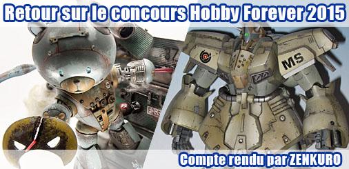 Retour sur le concours Hobby Forever 2015