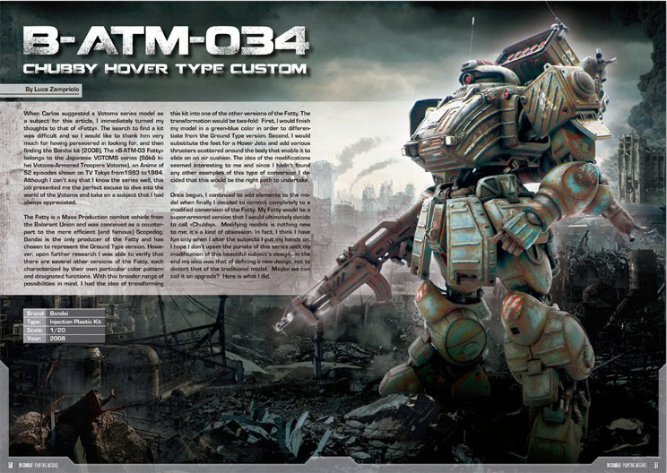 IN COMBAT – Painting Mechas