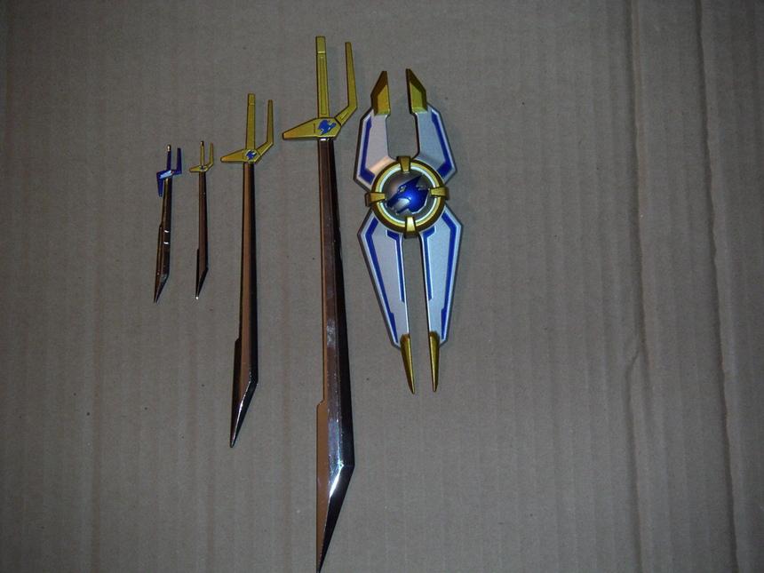 Les wolf swords et le bouclier
