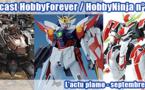 Podcast HobbyForever / HobbyNinja n° 2 - L'actu plamo - septembre 2013