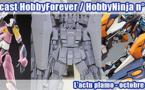 Podcast HobbyForever / HobbyNinja n° 3 - L'actu plamo - octobre 2013
