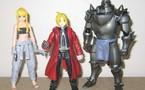 Figurines 'Fullmetal Alchemist' de la firme Play arts