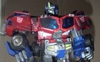 GALAXY CONVOY Optimus Prime ( custom paint)