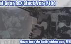 Ouverture de boite vidéo : Metal Gear REX Black Ver. 1/100