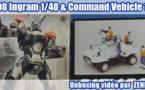 Unboxing vidéo spécial Patlabor : AV-98 Ingram Next Generation 1/48 & Special Command Vehicle 1/24