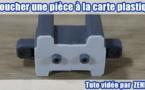 Tuto vidéo : Reboucher une pièce à la carte plastique