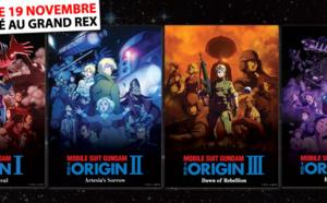 Le résultat du Jeu-Concours Marathon Gundam the Origin au Grand Rex !