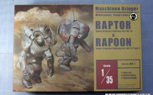 Review – Maschienen Krieger Raptor & Rapoon 1/35 par Aquamarine