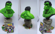 Finished Work : « The Hulk » Sculpt by Troy McDevitt