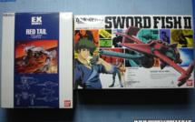 Arrivage - Sword Fish II & Red Tail 1/72 Bandai