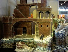 Un superbe diorama Saint Seiya par la Capucin Team