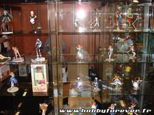 Des figurines en PVC sur le stand Good Smile Compagny