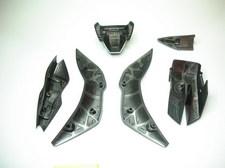 Faces interne de certaines pièces d'armure