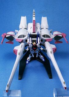 Meteor Unit + Freedom Gundam - HG - 1/144 - 2004